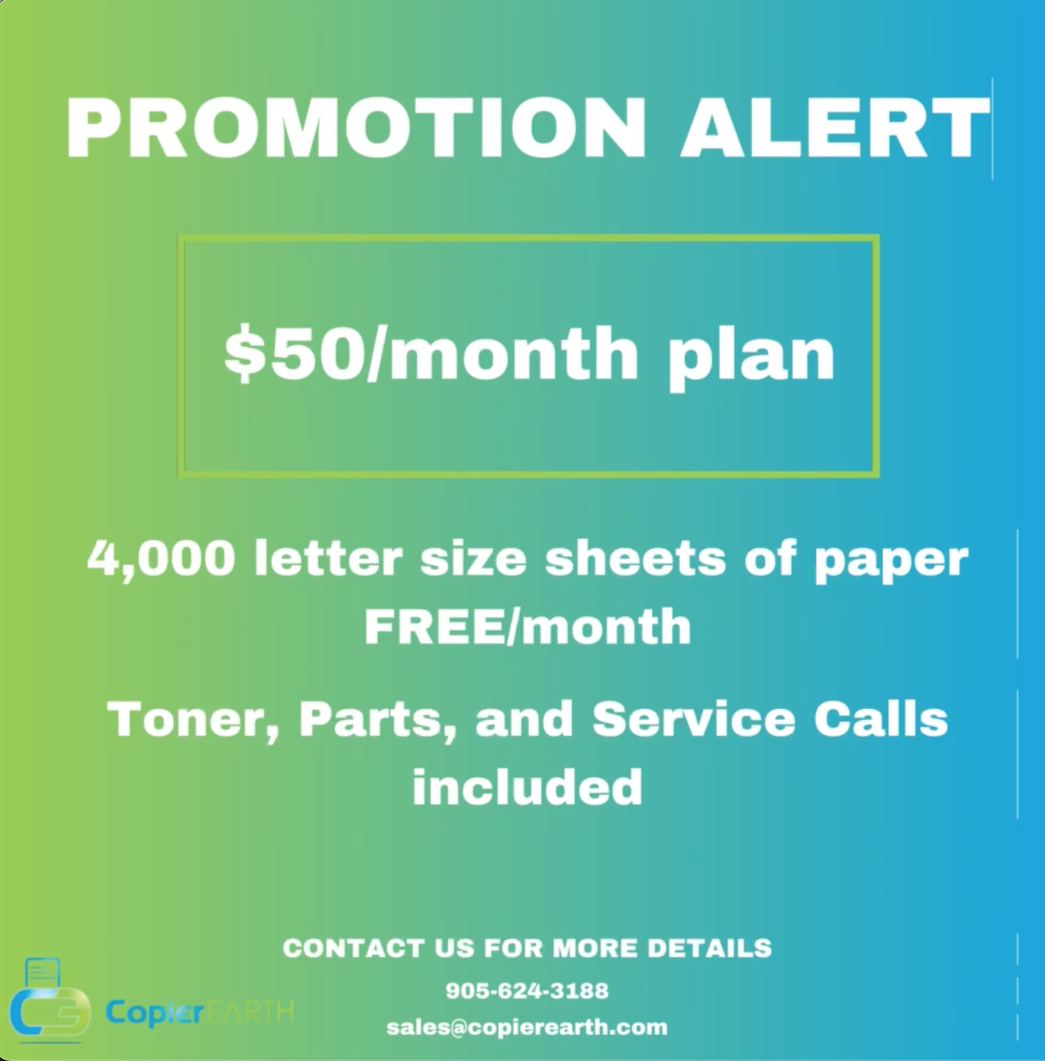 April 2021 Promotion of the month